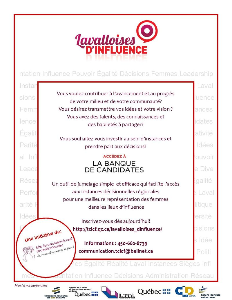 Tract Banque de candidates