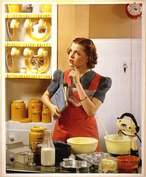 Housewife; image des femmes dans les médias