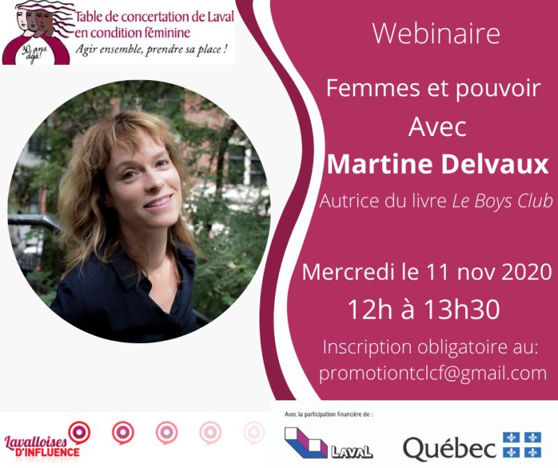 Bannière Finale Martine Delvaux